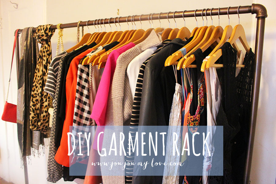 Diy Garment Rack Jou Jou My Love
