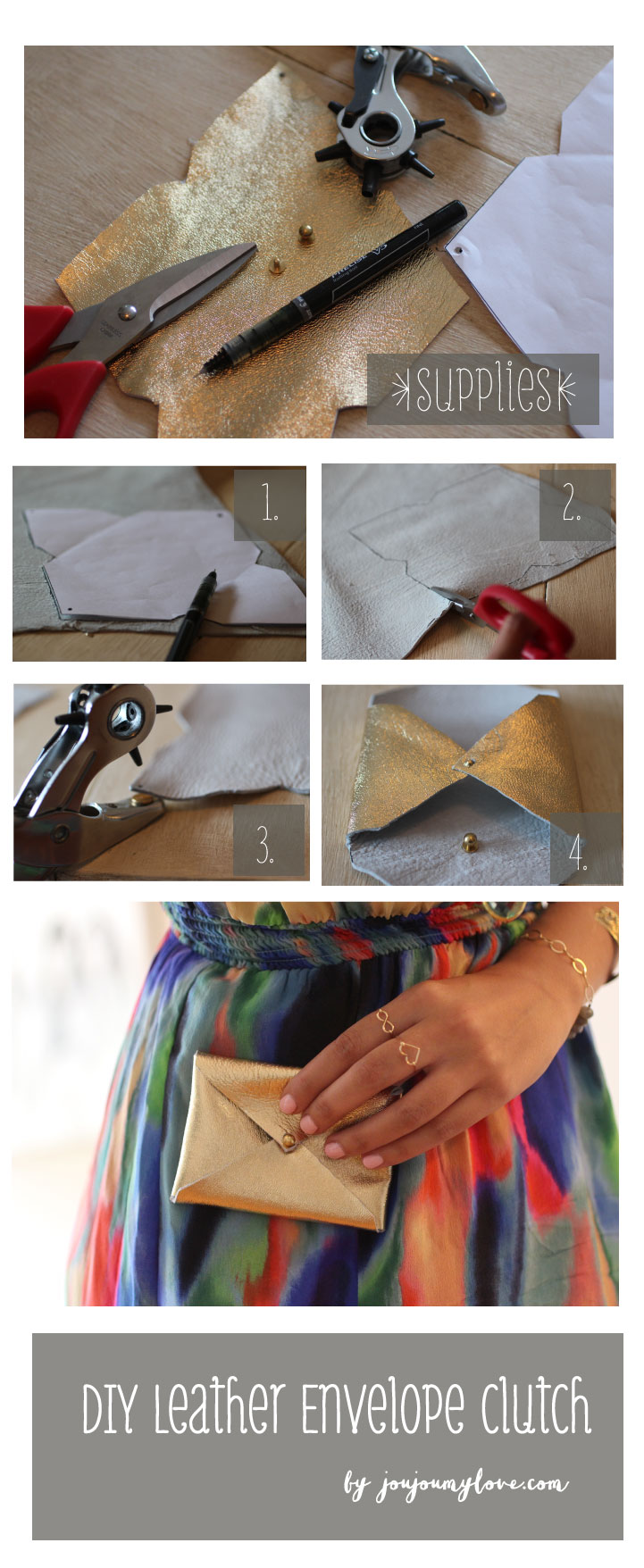 DIY-steps-leather-business-card-clutch